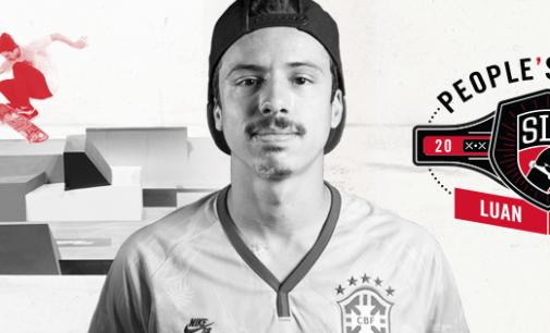 Público da Street League elege Luan Oliveira o favorito de 2014