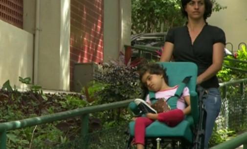 Liberação de substância derivada da maconha dá esperança a menina com doença rara