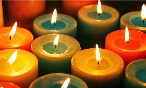 As velas e os dias da semana