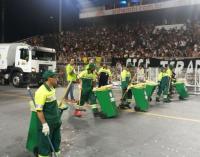 Operação de Carnaval recolhe 395 toneladas de resíduos no Sambódromo, Vila Madalena, Lapa e Sé