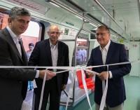Linha 11-Coral da CPTM  recebe novo trem