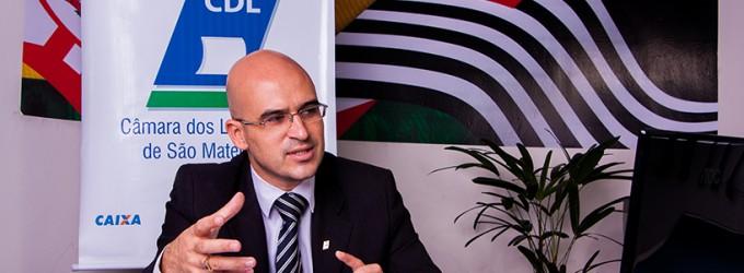 Marcelo Dória, presidente da CDL São Mateus  prevê um ano de ajustes