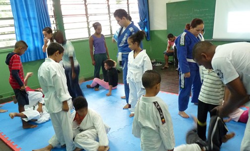 O Jiu Jitsu do Mãos Fortes na Fazenda da Juta