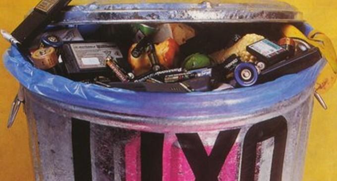 Lixo é vilão silencioso da energia da casa