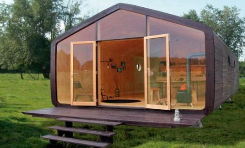 Holandeses criam casa sustentável que é construída em apenas 1 dia