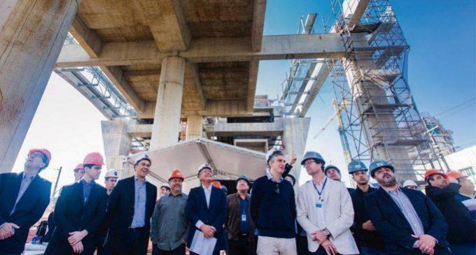 Governador acompanha implantação das últimas vigas do monotrilho da linha 15 – Prata