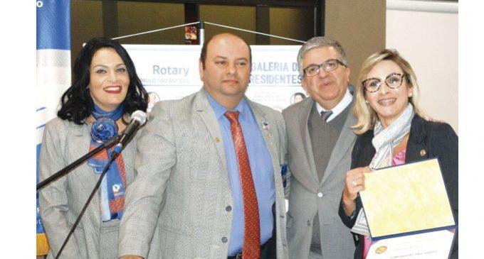 Rotary Club São Paulo / São Mateus Transmissão de Posse