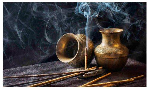 Limpeza energética  o poder do incenso