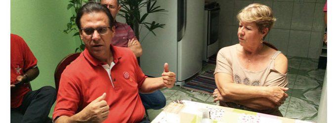 Pré candidato Luiz Marinho visita o jornal Gazeta São Mateus