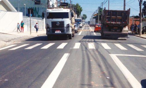 Com melhorias prefeitura mantém a ciclovia da Avenida Bento Guelf